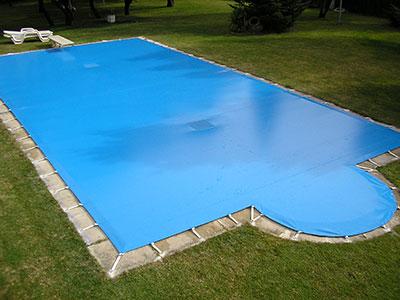 Lonas para tapar piscinas