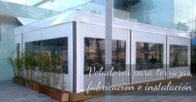 toldos terrazas cafeterias