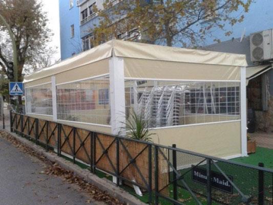 veladores para terrazas de hostelera - Terrazas Cerradas